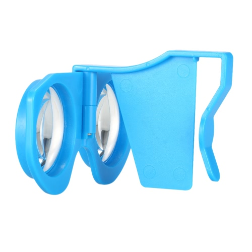 Foldable Virtual Reality Glasses 3D VR Glasses-Blue