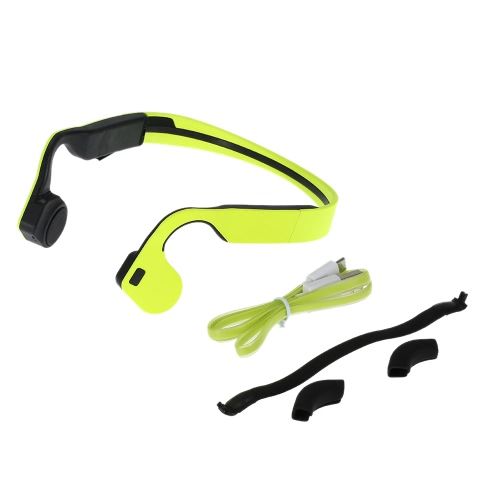 X1 Bone Conduction Wireless Bluetooth Stereo Headset Bluetooth 4.0 Neck-strap Earphone Hands-free