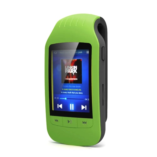 Buy HOTT A505 8GB MP3 / MP4 Player Stereo Music Support Sport Pedometer Bluetooth Function FM Radio TF Card Slot 1.8 Inches LCD Screen Clip Black
