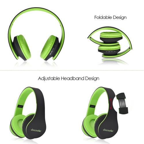 docooler JH-812 Stereo Bluetooth Headphone Wireless Bluetooth