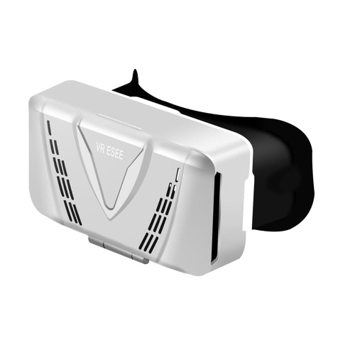 VR ESEE Virtual Reality Glasses 3D VR Box Glasses Headset for Android iOS Windows Smart Phones with 3.5  to 5.5 Inches  Silver V2436S