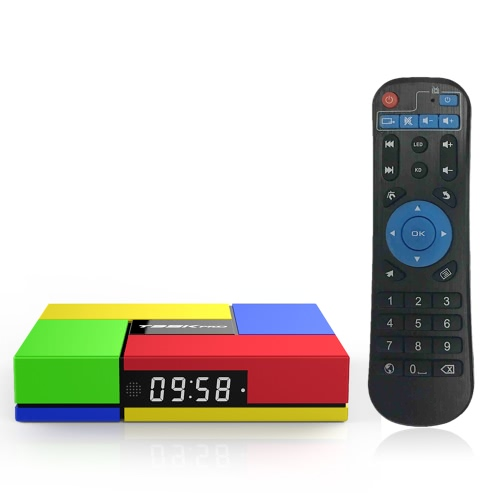 T95K Pro Android 6.0 TV Box Amlogic S912 Octa Core 64bit 2G + 16G H.265 UHD 4K  Bluetooth 4.0  DLNA EU PlugSmart Android TV Player Box<br>T95K Pro Android 6.0 TV Box Amlogic S912 Octa Core 64bit 2G + 16G H.265 UHD 4K  Bluetooth 4.0  DLNA EU Plug<br><br>Blade Length: 21.5cm