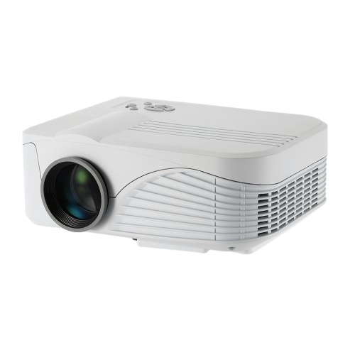 Buy X9 Projector 1000 Lumens 1080P Full HD LED Contrast Ratio: : 1 projection Machine HDMI VGA AV Port Remote Controller EU Plug