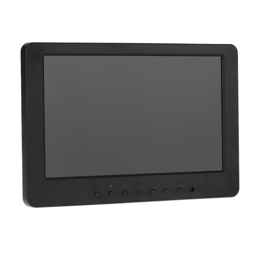 S702 7 inch TFT LCD 16:9 Color Monitor Screen 1024 * 600 BNC VGA  Video Audio for PC CCTV Security VCD DVD EU PlugS702 7 inch TFT LCD 16:9 Color Monitor Screen 1024 * 600 BNC VGA  Video Audio for PC CCTV Security VCD DVD EU Plug<br><br>Blade Length: 24.7cm