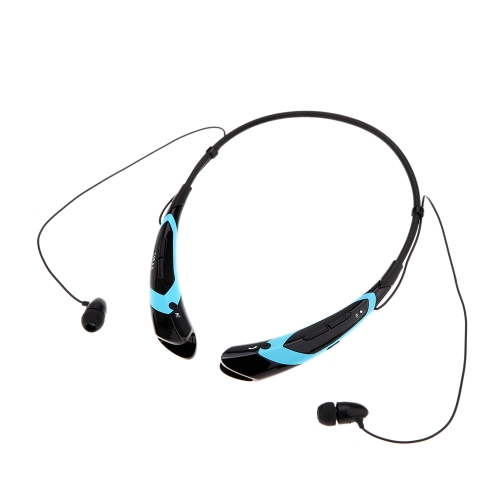 HV-760 Neck-strap Style In-ear Wireless Outdoor Sport Stereo Bluetooth 4.0 + EDR Music Headphone Earphone Headset Hands-free with Microphone for iPhone 6 Plus 6 5S LG Samsung S5 S4 HTC Tablet PC V1229BBL