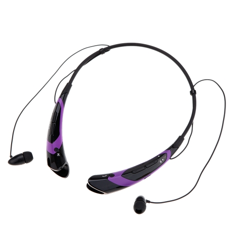 HV-760 Neck-strap Style In-ear Wireless Outdoor Sport Stereo Bluetooth 4.0 + EDR Music Headphone Earphone Headset Hands-free with Microphone for iPhone 6 Plus 6 5S LG Samsung S5 S4 HTC Tablet PC V1229BPU
