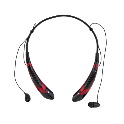 HV-760 Neck-strap Style In-ear Wireless Outdoor Sport Stereo Bluetooth 4.0 + EDR Music Headphone Earphone Headset Hands-free with Microphone for iPhone 6 Plus 6 5S LG Samsung S5 S4 HTC Tablet PC V1229BR