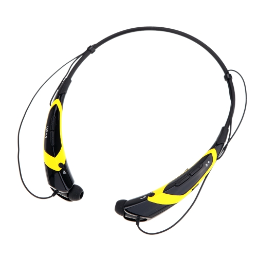 HV-760 Neck-strap Style In-ear Wireless Outdoor Sport Stereo Bluetooth 4.0 + EDR Music Headphone Earphone Headset Hands-free with Microphone for iPhone 6 Plus 6 5S LG Samsung S5 S4 HTC Tablet PC V1229BY