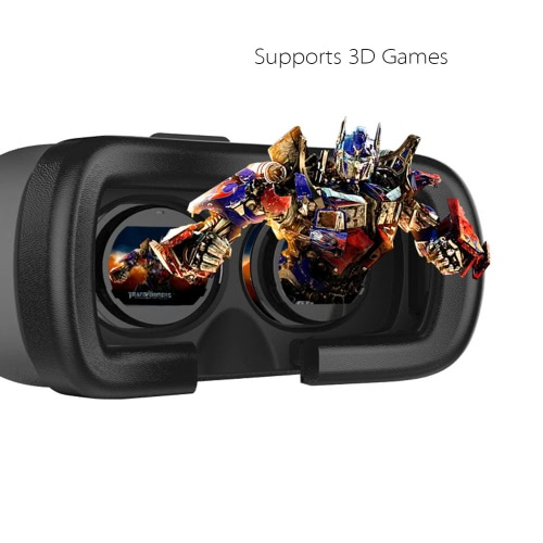"Head-mounted Google Cardboard Version 3D VR Glasses Virtual Reality VR BOX DIY 3D VR Video Movie Game Glasses with Headband for iPhone 6Plus 6 Samsung Note 4 / All 4.7 ~ 6.0"" Smart Phones"