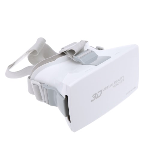 "Portable Head-Mounted Google Cardboard Version 3D VR Glasses Virtual Reality DIY 3D VR Video Movie Game Glasses with CSY-02 Mini Multifunctional Wireless Bluetooth V3.0 Selfie Camera Shutter Gamepad for iPhone Samsung / All 4.0 ~ 6.0"" Smart Phones"