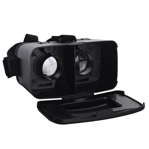 "CST-06 Head-Mounted Google Cardboard Version 3D VR Glasses Virtual Bluetooth V3.0 for All 4.0 ~ 6.0"" Smart Phones"