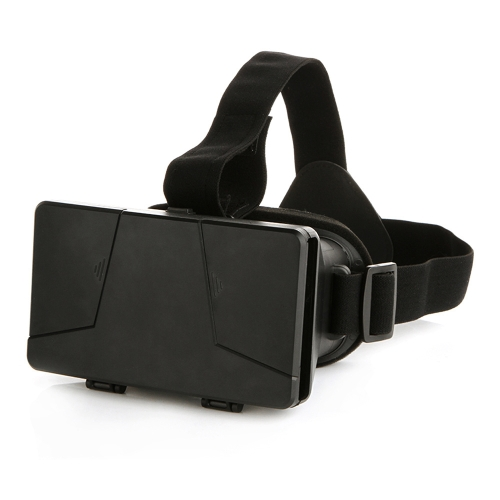 """Head-mounted Universal 3D VR Glasses Virtual Reality Video Movie Game Glasses with Headband for Google Cardboard iPhone 6 Plus Samsung S5 S4 All 4 ~ 6"""" Smart Phones"""