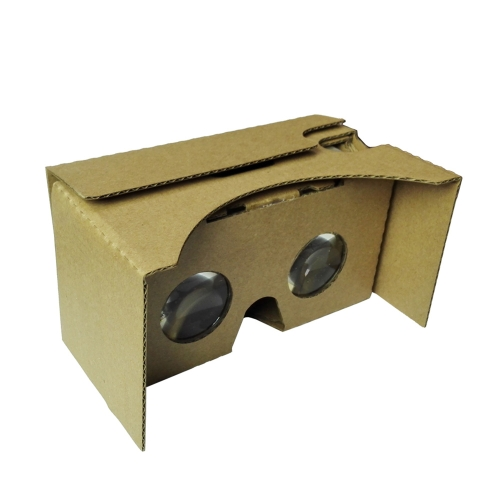 "Portable Head-Mounted DIY Google Cardboard V2.0 3D Glasses 3D VR Virtual Reality Video Glasses for Up to 6"" Smart Phones V1373"