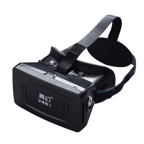 Best-selling Private 3D Glasses Google Cardboard Head-mounted 3D VR Glasses Virtual Reality DIY 3D VR Video with Magnetic Switch Movie Game 3D Glasse V1410