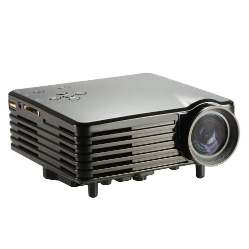Buy Portable LED Video TV Beamer Projector Home Theater Cinema Multimedia Player HDMI /AV/VGA/SD/USB Black EU Plug