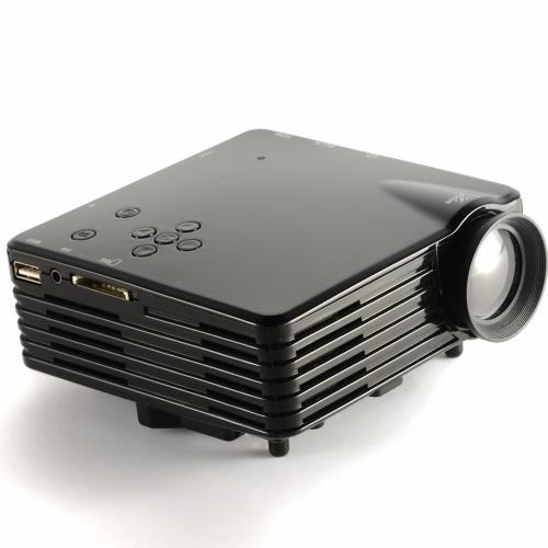 Buy Portable LED Video TV Beamer Projector Home Theater Cinema Multimedia Player HDMI /AV/VGA/SD/USB Black US Plug