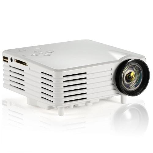 Buy Portable LED Video TV Beamer Projector Home Theater Cinema Multimedia Player HDMI /AV/VGA/SD/USB White EU Plug