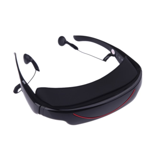 "4GB 72"""" 16:9 Virtual Wide Screen Video Glasses Eyewear Mobile Private Theater with AV Input Card Slot"" V711"