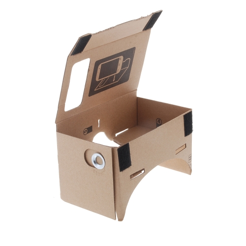 "DIY Google Cardboard Virtual Reality VR Mobile Phone 3D Viewing Glasses for 5.5"""" Screen"" V806S"