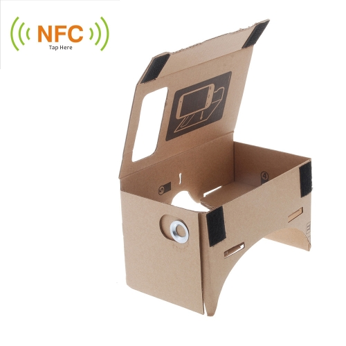 "DIY Google Cardboard Virtual reality VR Mobile Phone 3D Glasses with NFC Tag for 5.5"""" Screen"" V832L"