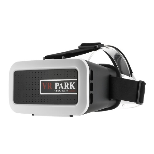 VRPARK VR Box Virtual Reality 3D Glasses Movie Game Home Theater 3D Helmet Head-mounted Black for iPhone 6S 6 Samsung S6 Note 5 / All 4.0 ~ 6.0 Inches Smart Phones