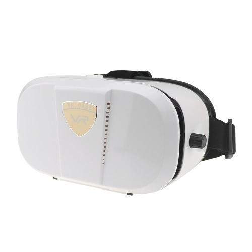 VR World Virtual Reality Glasses 3D VR BOX Headset 3D Movie VR Games Head-mounted Display Use Universal Black for Android iOS Smart Phones within 4.0 to 6.0 Inches V2342W