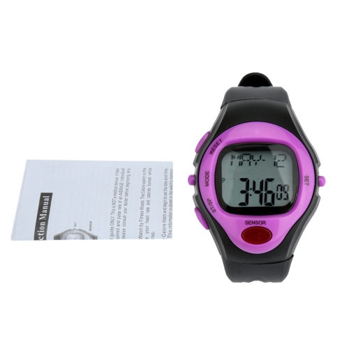 Pulse Watch Heart Rate Monitor Calorie Counter