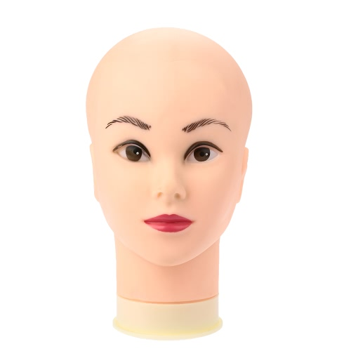 Female Mannequin Head Model Wig Hat Jewelry Display Cosmetology Salon Manikin Head W2641