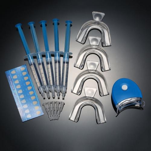 Buy 1Teeth Whitening Set Dental Bleaching Tooth Whitener Gel 44% Peroxide Trays Care Equipment Home Kit Teeth Tools