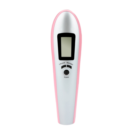Electric Infrared Hair Massage Brush Grow Comb LCD Display Low Power