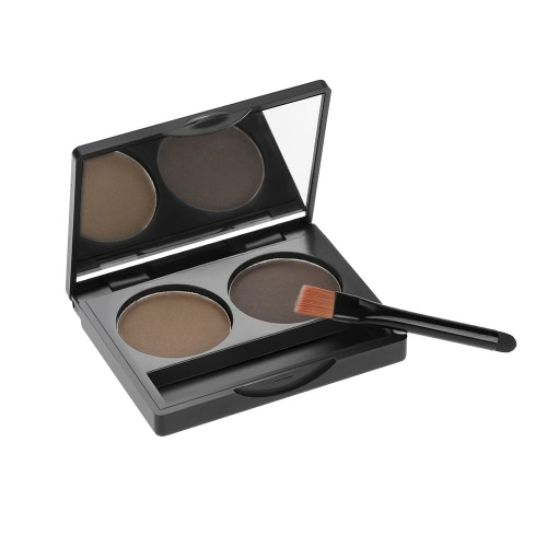 Abody Professional 2 Colors Eyebrow Powder Shadow Palette Eyeliner Powder Nature Coffee &amp; Brown Color Cosmetic Tool Makeup Kit with Brush &amp; MirrorFace<br>Abody Professional 2 Colors Eyebrow Powder Shadow Palette Eyeliner Powder Nature Coffee &amp; Brown Color Cosmetic Tool Makeup Kit with Brush &amp; Mirror<br><br>Blade Length: 6.5cm