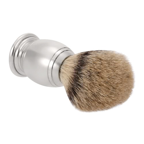 Anself Blaireau Shaving Brush Pure Badger Beard Cleaning Brush Aluminum Handle Male Facial Cleaning ToolFace Cleaning Tools<br>Anself Blaireau Shaving Brush Pure Badger Beard Cleaning Brush Aluminum Handle Male Facial Cleaning Tool<br><br>Blade Length: 13.0cm