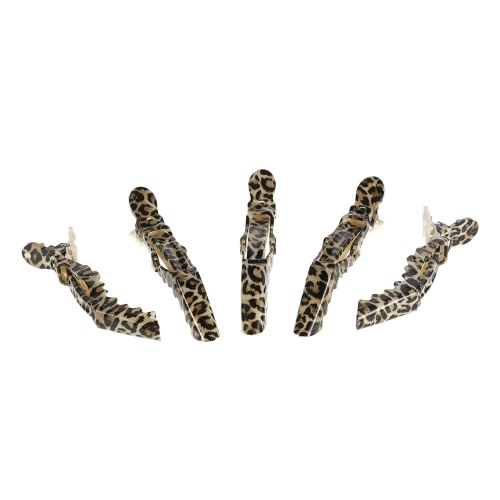 Anself 5Pcs Crocodile Hair Sectioning Grip Clips Croc Hair Clips Clamps Hairdressing Salon Clamps Leopard Plastic Hair Styling ToolOthers<br>Anself 5Pcs Crocodile Hair Sectioning Grip Clips Croc Hair Clips Clamps Hairdressing Salon Clamps Leopard Plastic Hair Styling Tool<br><br>Blade Length: 12.0cm