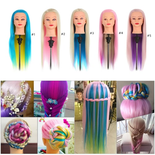 Colorful Manikin Rainbow Hair Training Head Dummy Head with Thick 70cm Long Hair Dolls Head Great Mannequin Head For HairdressersOthers<br>Colorful Manikin Rainbow Hair Training Head Dummy Head with Thick 70cm Long Hair Dolls Head Great Mannequin Head For Hairdressers<br><br>Blade Length: 27.0cm