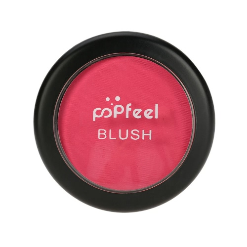 Popfeel Makeup Face Blusher Powder Palette Cosmetic Blusher Powder #1 Make Up 6 Colors Optional with Mirror Brush W2962-6