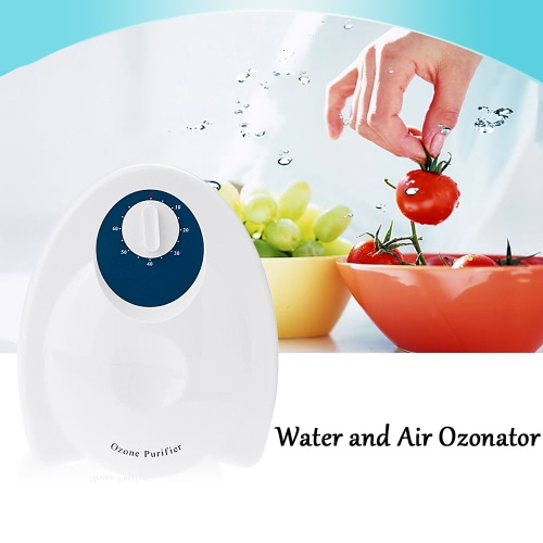 Water and Air Ozonator Ozone Generator Fruit Vegetables Food Sterilizer Air Purifier 220V EU Plug W2547