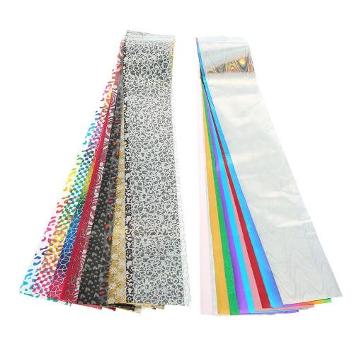 Buy 30 Color Nail Sticker Art Transfer Foils DIY Decoration Tip Manicure Tool