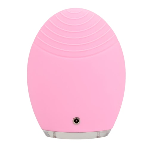 Silicone Face Cleansing Massage Brush Electric Facial Vibration Cleanser