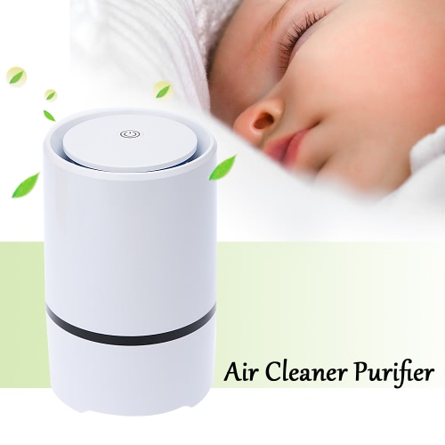 Mini Air Cleaner Purifier Negative Ion Ionizer Fresh Air Home Use W2549