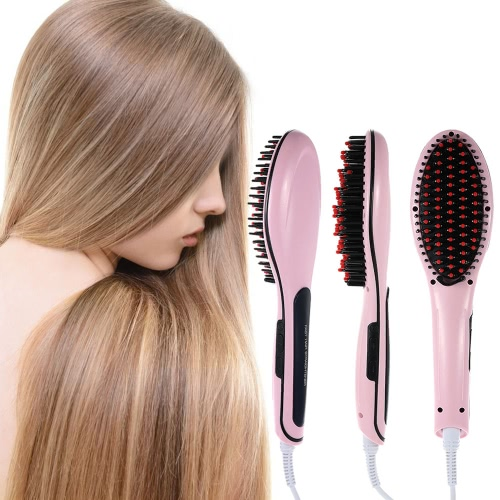 Hot Sale Professional Automatic Straightening Irons Comb With LCD Display Electric Straight Hair Comb Straightener Iron BrushCurling &amp; Straightening Irons<br>Hot Sale Professional Automatic Straightening Irons Comb With LCD Display Electric Straight Hair Comb Straightener Iron Brush<br><br>Blade Length: 33.0cm