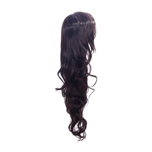 85cm Fashion Hair Cosplay Party Wig Women Wavy Curly Hair Full Wig BrownFashion Wigs<br>85cm Fashion Hair Cosplay Party Wig Women Wavy Curly Hair Full Wig Brown<br><br>Blade Length: 25.0cm