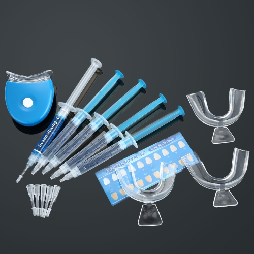 Dental Equipment Teeth Whitening Dental Bleaching System Tooth Whitener Whitening Gel Dental Trays Care Whitening Home Kit Teeth Tools