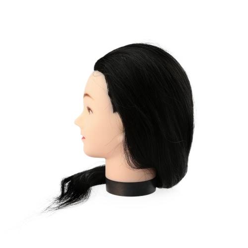 23 Black Hairdresser Training Head Dummy Model with Long HairOthers<br>23 Black Hairdresser Training Head Dummy Model with Long Hair<br><br>Blade Length: 29.0cm