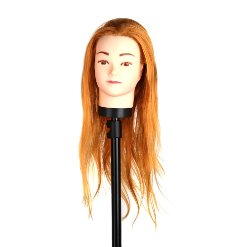 Hair Hairdressing Training Head Practice Model Mannequin Cut with ClampStyling Tools<br>Hair Hairdressing Training Head Practice Model Mannequin Cut with Clamp<br><br>Blade Length: 25.0cm
