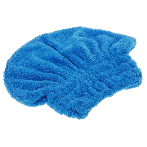 Useful Dry Hair Hat Microfiber Hair Turban Quickly Dry Hair Hat Wrapp W347BL