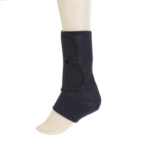 Black Ankle Brace Protection Elastic Postoperative Foot