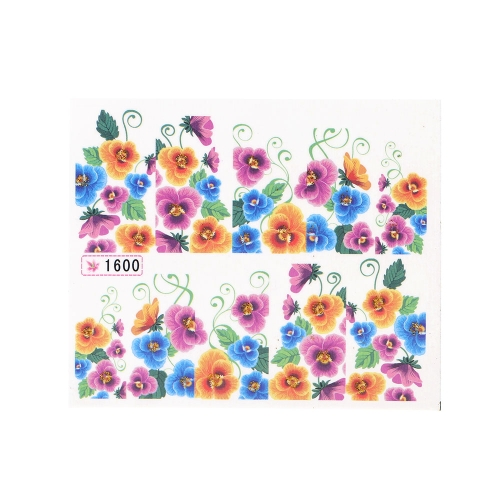 Water Transfer Printing Beauty Flowers Design Stylish Nail Art Sticker Decal Stickers on NailsNail Art Accessories<br>Water Transfer Printing Beauty Flowers Design Stylish Nail Art Sticker Decal Stickers on Nails<br><br>Blade Length: 9.0cm