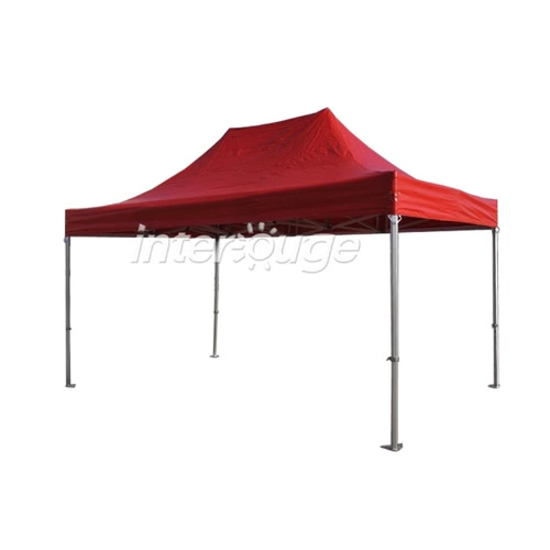 Folding Tent PRO Series 50mm Aluminium Structure in PVC 520g/m? Tarpaulin 3x4.5m  for Professional Needs or Daily Use RedPatio Furniture<br>Folding Tent PRO Series 50mm Aluminium Structure in PVC 520g/m? Tarpaulin 3x4.5m  for Professional Needs or Daily Use Red<br><br>Blade Length: 160.0cm