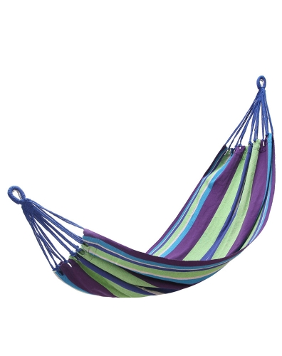 Colourful Striped Canvas Hammock With High Wear-resisting PerformanceOutdoor Appliances<br>Colourful Striped Canvas Hammock With High Wear-resisting Performance<br><br>Blade Length: 32.0cm