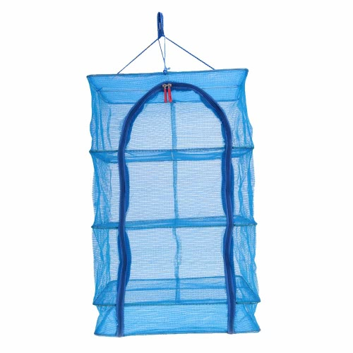 Image of 40 * 40 * 65cm 4 Layers Vegetable Fish Dishes Mesh Hanging Drying Net
